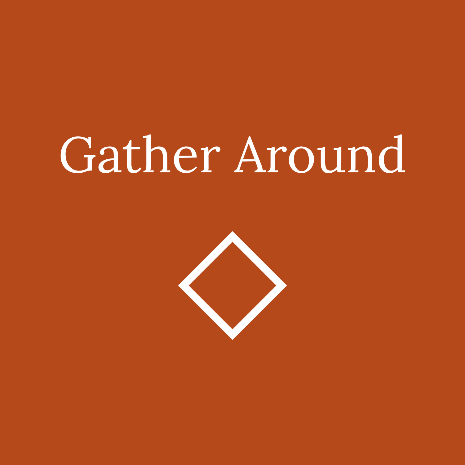 Gather Around Cover