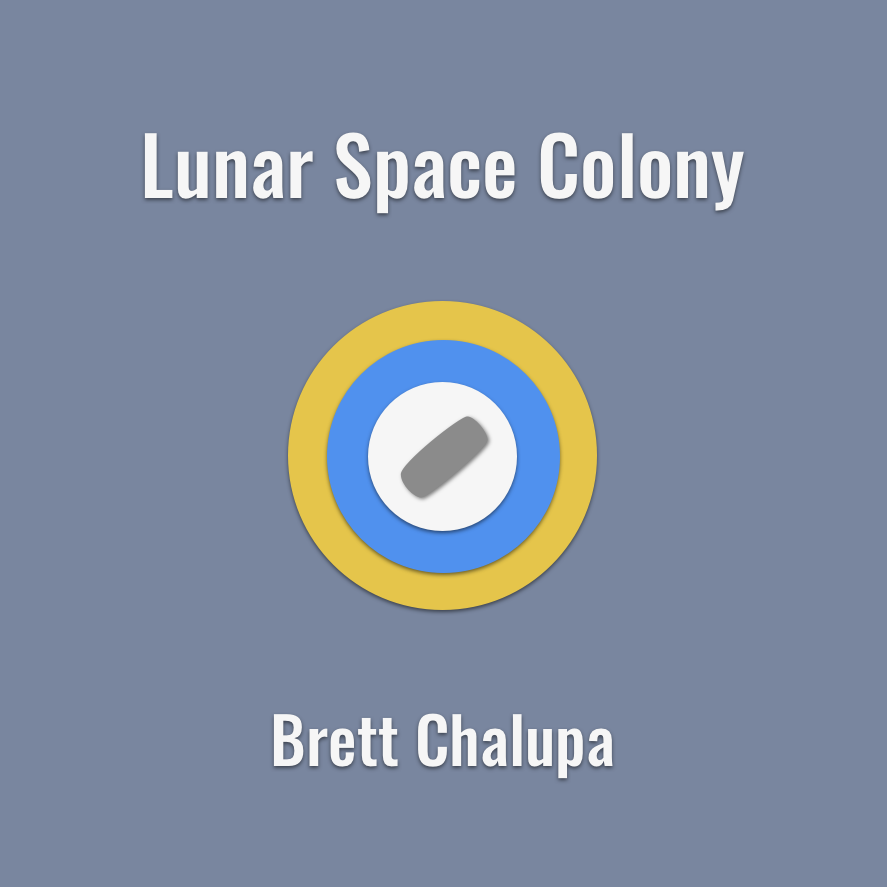 Lunar Space Colony Cover